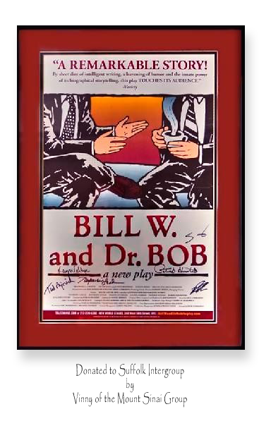 Bill W and Dr Bob